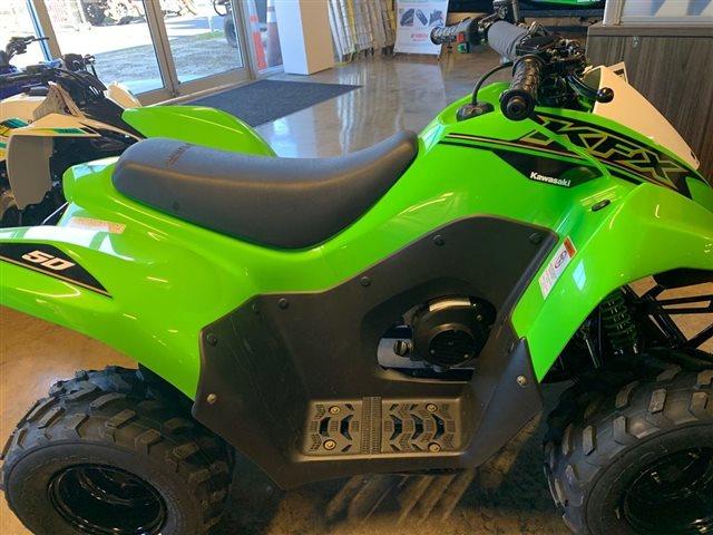 2021 Kawasaki KFX50 50 at Powersports St. Augustine