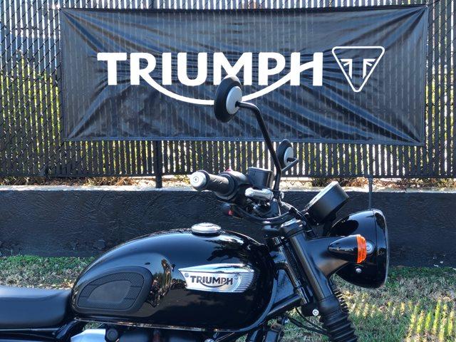 2019 Triumph Bonneville T-100 Black BONNEVILLE T-100 BLACK at Tampa Triumph, Tampa, FL 33614