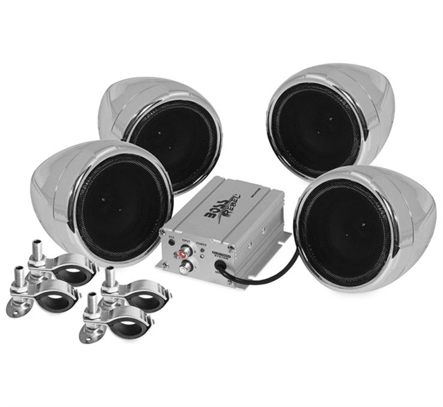 2019 UNIVERSAL BOSS AUDIO SYSTEMS at Randy's Cycle, Marengo, IL 60152