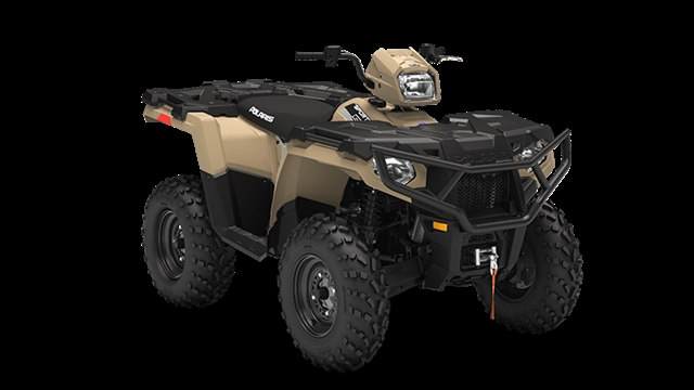 2019 Polaris Sportsman 570 EPS Military Tan Premium Edition at Fort Fremont Marine, Fremont, WI 54940
