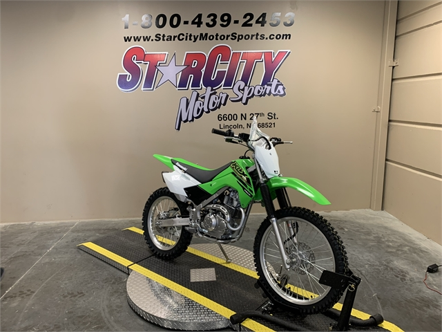 2021 Kawasaki KLX 140R F at Star City Motor Sports