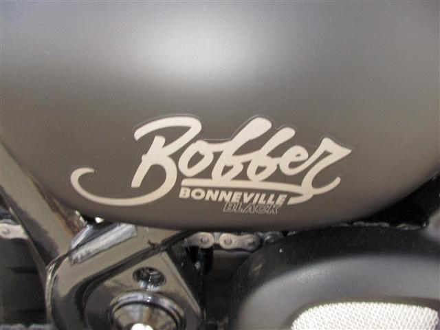 2019 Triumph Bonneville Bobber Black Matte Black at Stu's Motorcycles, Fort Myers, FL 33912