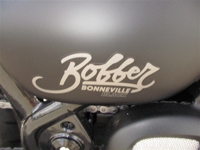 2019 Triumph Bonneville Bobber Black Matte Black at Fort Myers