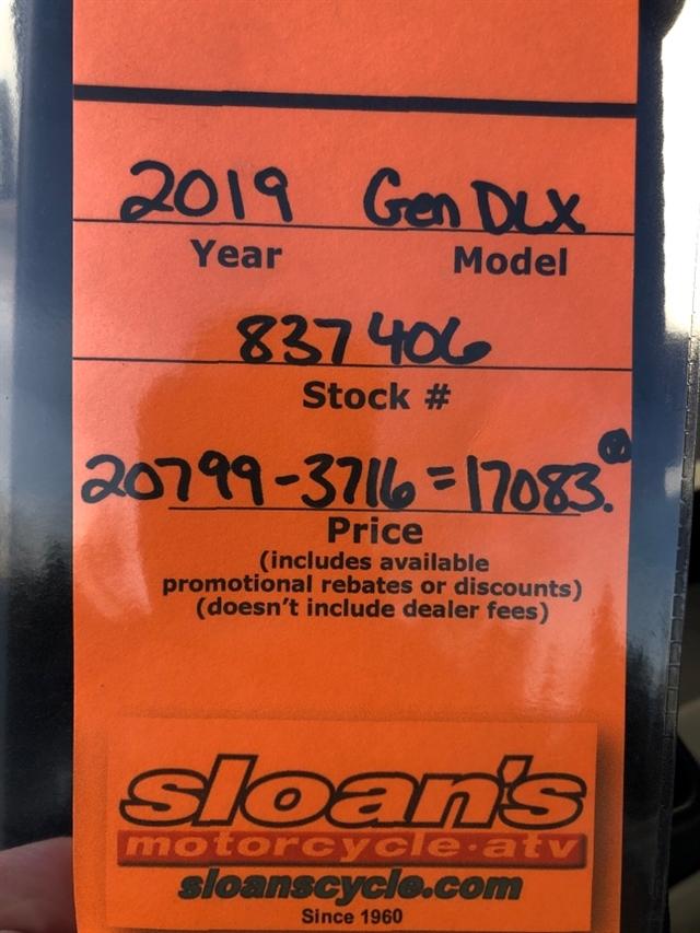 2019 Polaris GENERAL 1000 EPS Deluxe at Sloans Motorcycle ATV, Murfreesboro, TN, 37129