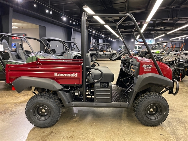 2021 Kawasaki Mule 4000 at Sloans Motorcycle ATV, Murfreesboro, TN, 37129