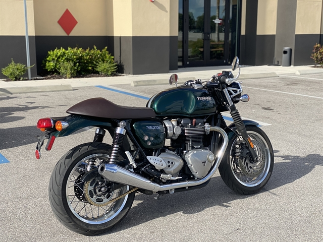 2016 Triumph Thruxton 1200 at Fort Myers