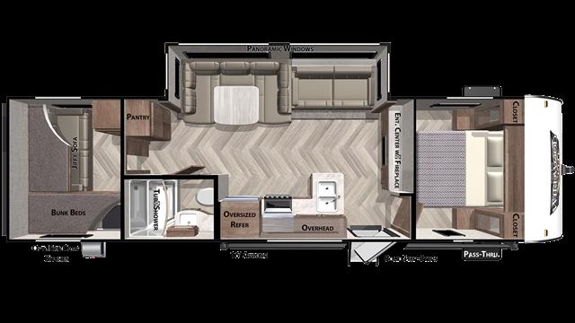 2021 Forest River Wildwood X-Lite 273QBXL at Campers RV Center, Shreveport, LA 71129