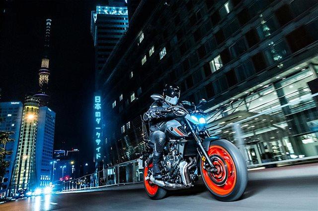 2021 Yamaha MT 07 at Arkport Cycles