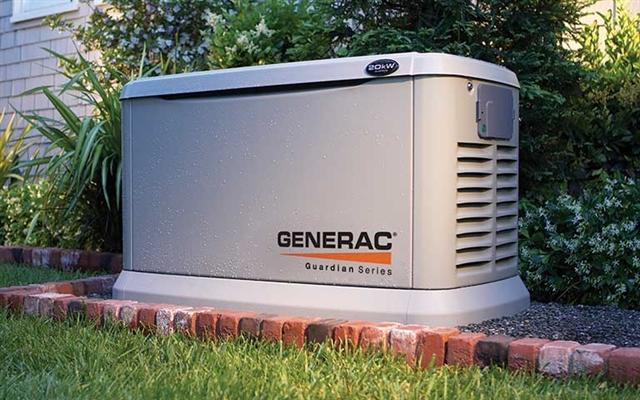 2017 GENERAC Guardian Home Backup 11kW Home Backup Generator at Harsh Outdoors, Eaton, CO 80615