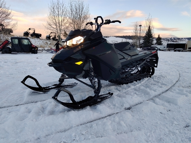 2021 Ski-Doo Summit SP Summit SP 154 600R E-TEC SHOT PowderMax Light FlexEdge 25 at Power World Sports, Granby, CO 80446