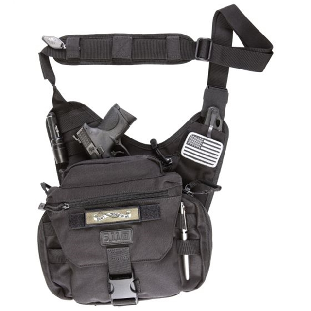 2019 5.11 Tactical PUSH Pack 6L Black at Harsh Outdoors, Eaton, CO 80615