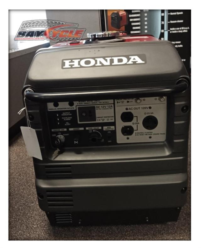 2020 Honda EU3000IH1A EU3000i Handi at Bay Cycle Sales