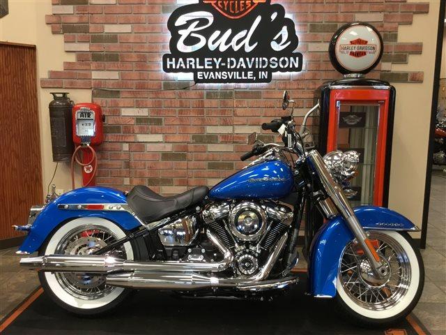 2018 Harley-Davidson Softail Deluxe at Bud's Harley-Davidson, Evansville, IN 47715