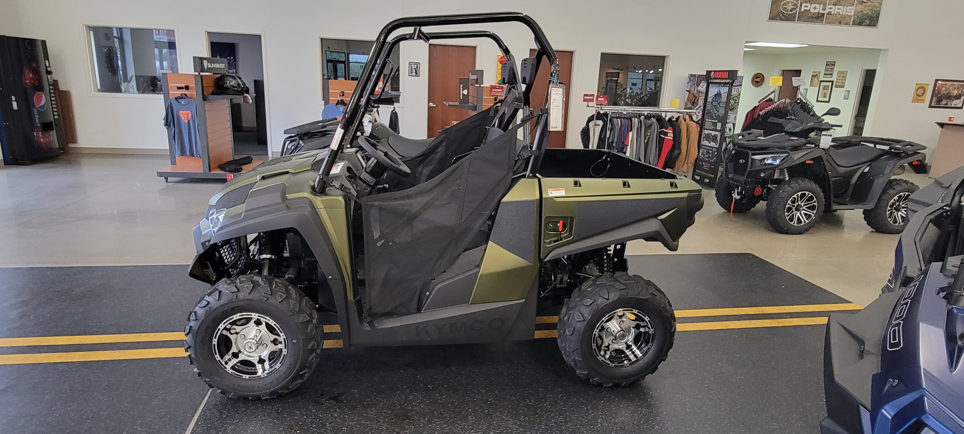 2021 KYMCO UXV 450i LE at Brenny's Motorcycle Clinic, Bettendorf, IA 52722