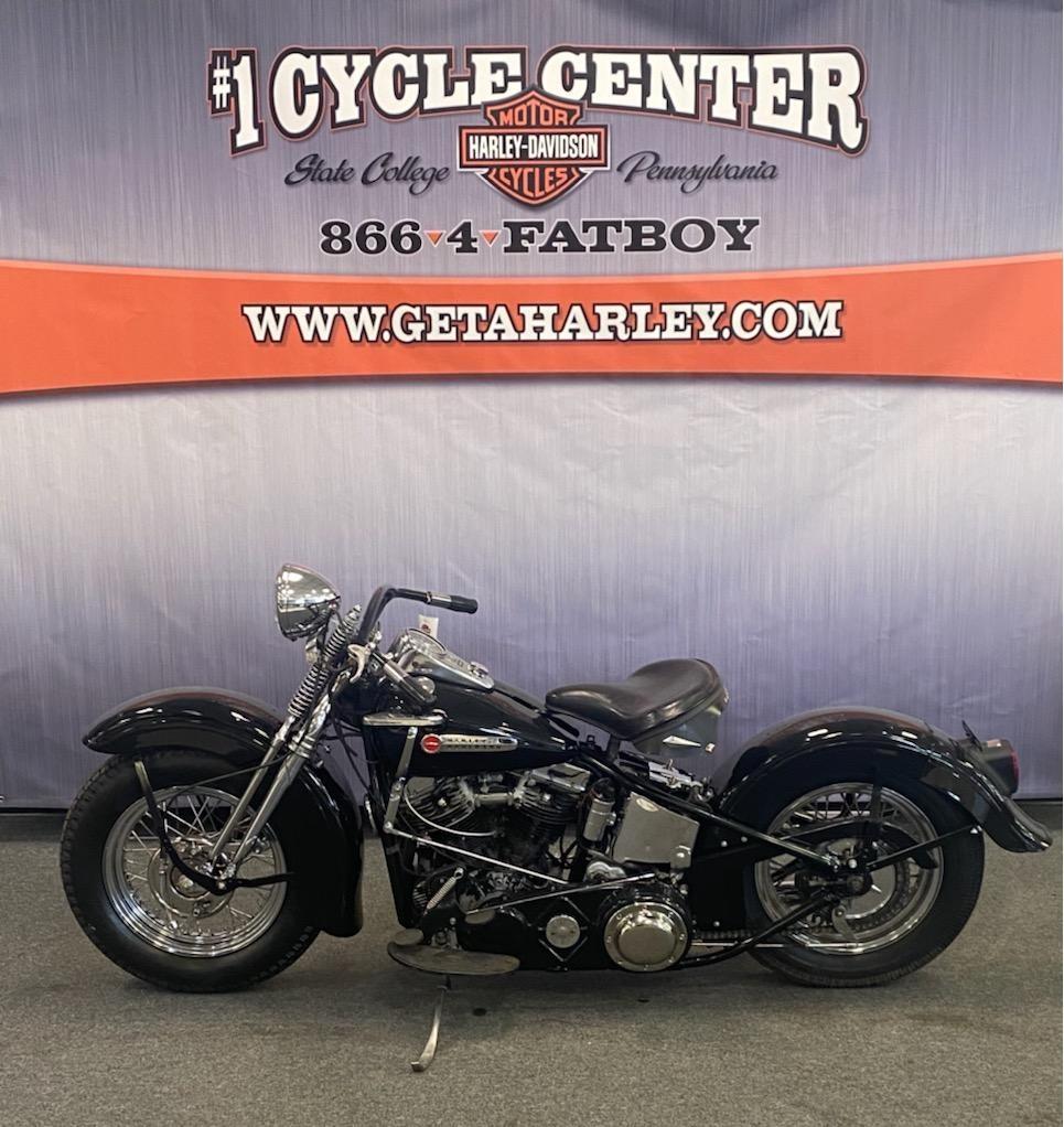 1948 Harley-Davidson EL at #1 Cycle Center Harley-Davidson