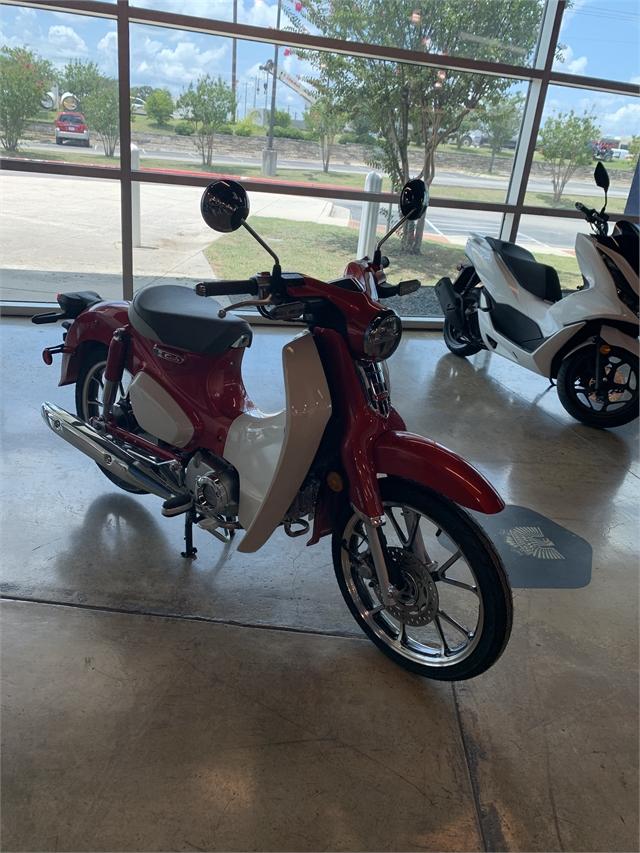 2021 Honda Super Cub C125 ABS at Kent Powersports of Austin, Kyle, TX 78640