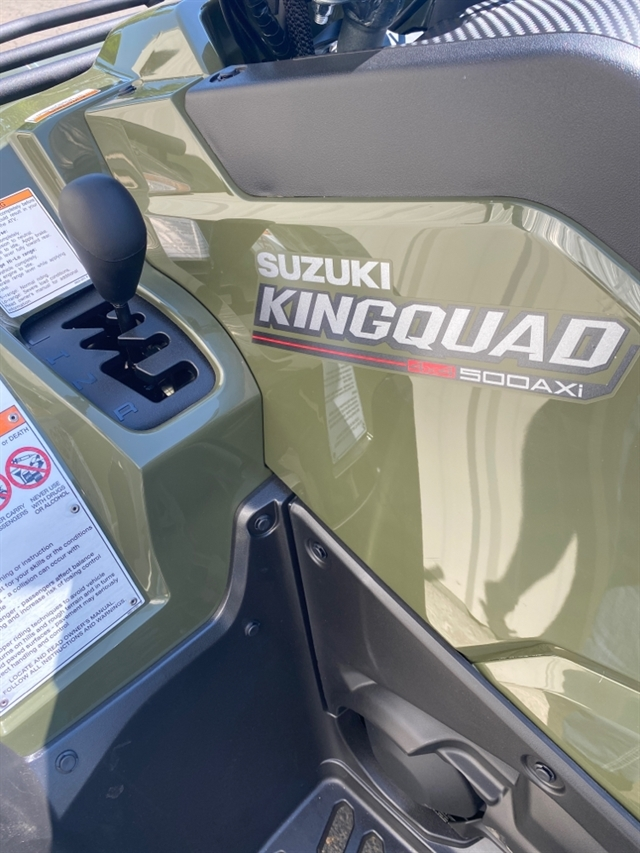 2020 Suzuki KingQuad 500 AXi at Sloans Motorcycle ATV, Murfreesboro, TN, 37129