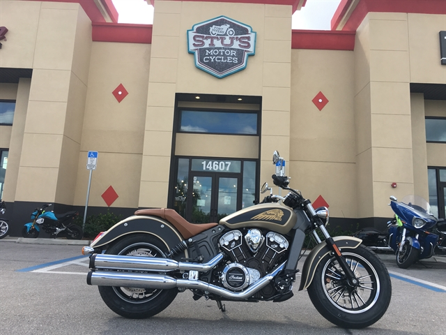2020 Indian Scout Base at Fort Myers