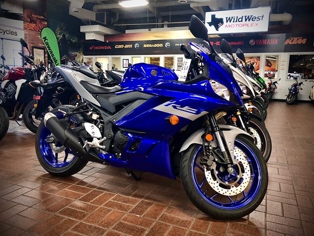 2020 Yamaha YZF R3 at Wild West Motoplex