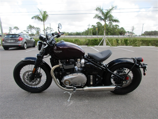 2019 Triumph Bonneville Bobber Morello Red at Fort Myers