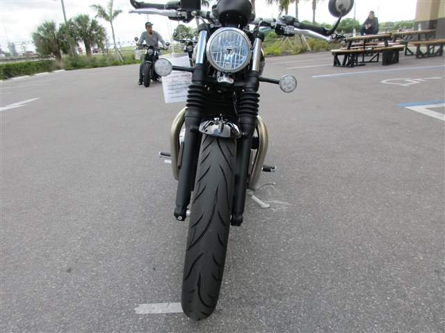 2019 Triumph Bonneville Bobber Morello Red at Stu's Motorcycles, Fort Myers, FL 33912