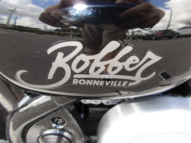 2019 Triumph Bonneville Bobber Morello Red at Stu's Motorcycles, Fort Myers, FL 33912