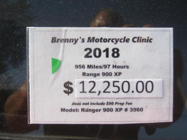 2018 Polaris Ranger XP 900 EPS at Brenny's Motorcycle Clinic, Bettendorf, IA 52722