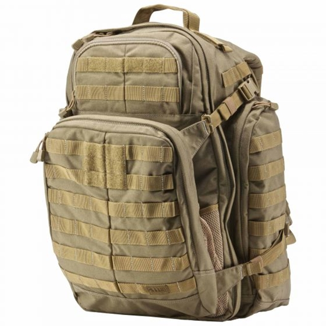 2019 5.11 Tactical RUSH72™ Backpack 55L Sandstone at Harsh Outdoors, Eaton, CO 80615