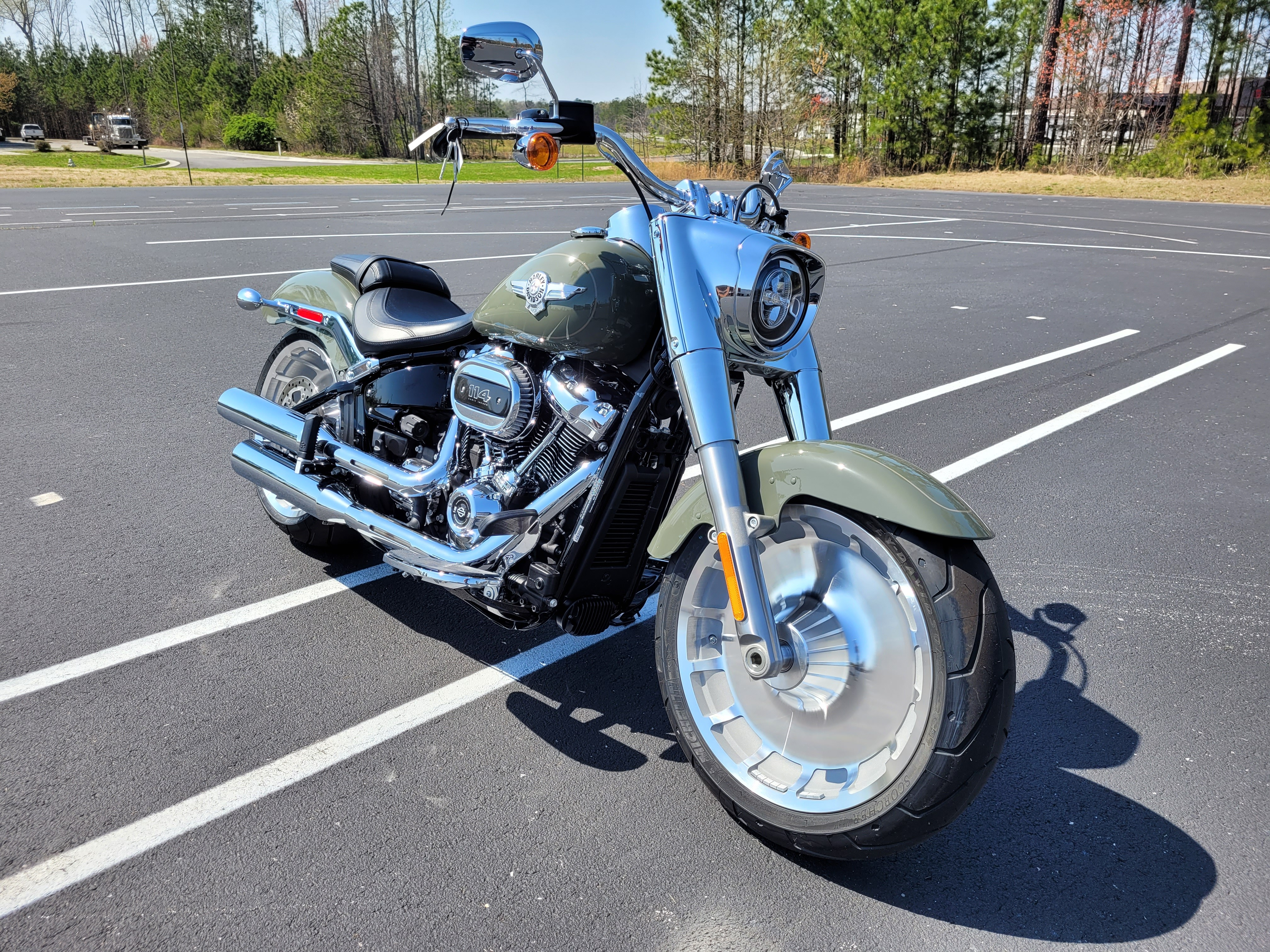 2021 Harley-Davidson Cruiser FLFBS Fat Boy 114 at Richmond Harley-Davidson