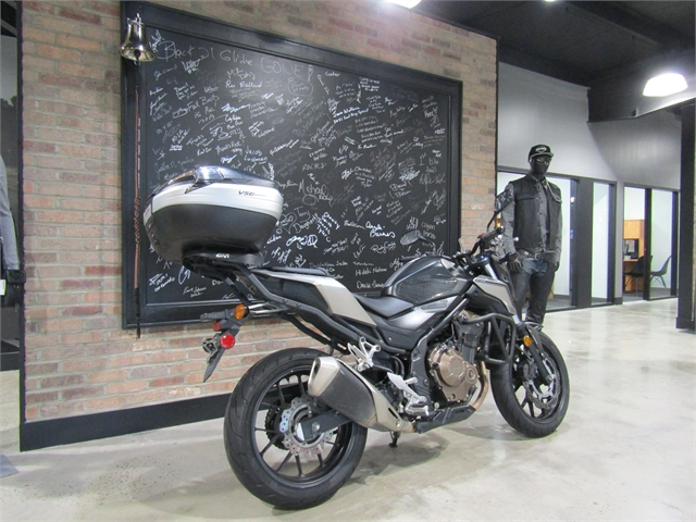 2016 Honda CB 500F ABS at Cox's Double Eagle Harley-Davidson