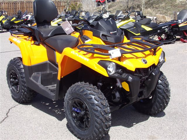 2018 Can-Am Outlander MAX 450 DPS $141/month at Power World Sports, Granby, CO 80446