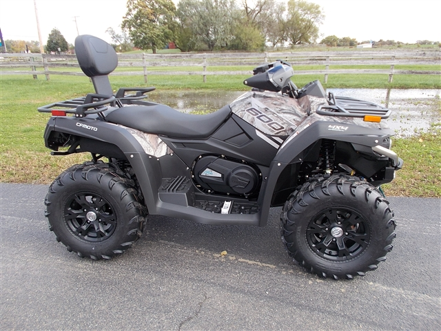 2019 CF MOTO CFORCE 600 CAMO 2 SEATER ! at Randy's Cycle, Marengo, IL 60152