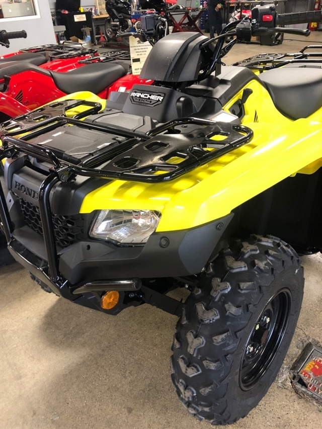 2020 Honda FourTrax Rancher 4X4 Automatic DCT EPS at Genthe Honda Powersports, Southgate, MI 48195