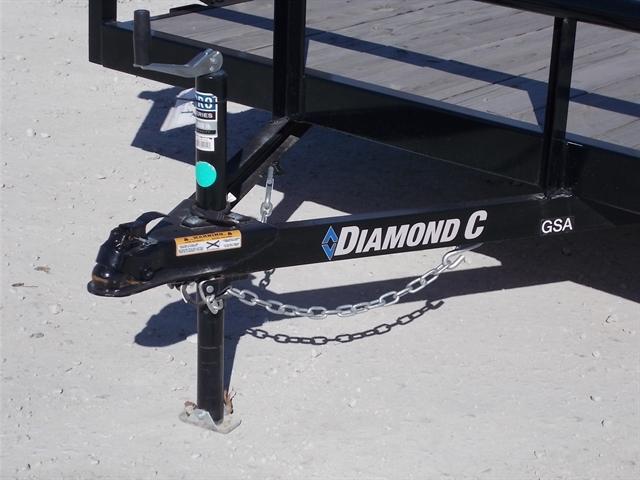 2019 Diamond C Single Axle Utility GSA at Nishna Valley Cycle, Atlantic, IA 50022