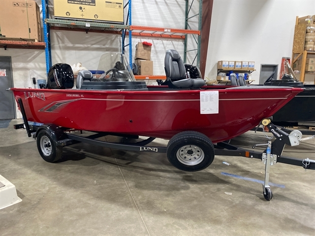 2021 LUND 1650 REBEL XL SS at Pharo Marine, Waunakee, WI 53597