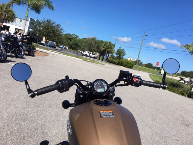 2019 Indian BOBBER ICON ABS DEEP BRASS SMOKE 49ST at Fort Myers