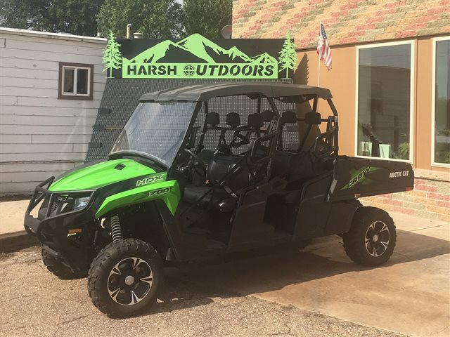 2017 Arctic Cat HDX 700 Crew XT EPS at Harsh Outdoors, Eaton, CO 80615