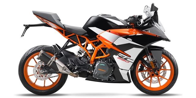 2018 KTM RC 390 at Riderz
