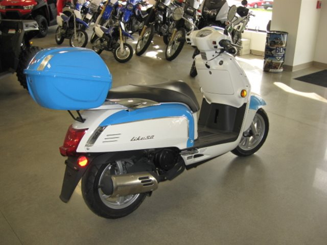 2013 KYMCO Like 50 LX at Brenny's Motorcycle Clinic, Bettendorf, IA 52722