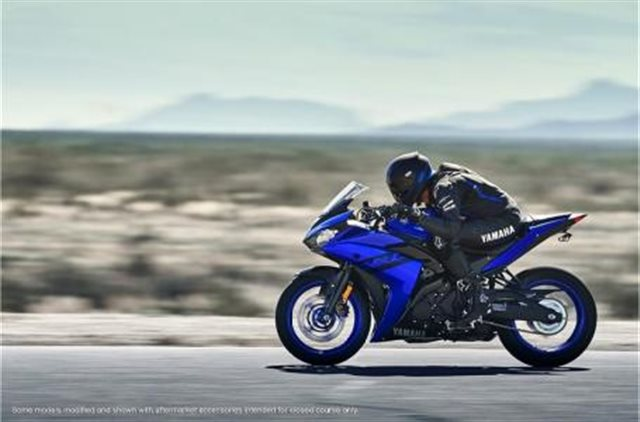 2018 Yamaha YZF R3 at Pete's Cycle Co., Severna Park, MD 21146