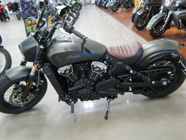 2021 Indian Motorcycle Scout Bobber Twenty ABS at Brenny's Motorcycle Clinic, Bettendorf, IA 52722