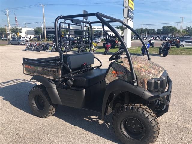 2019 Kawasaki Mule SX FI 4x4 XC Camo at Jacksonville Powersports, Jacksonville, FL 32225