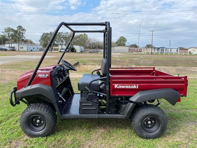 2021 Kawasaki Mule 4000 at Dale's Fun Center, Victoria, TX 77904