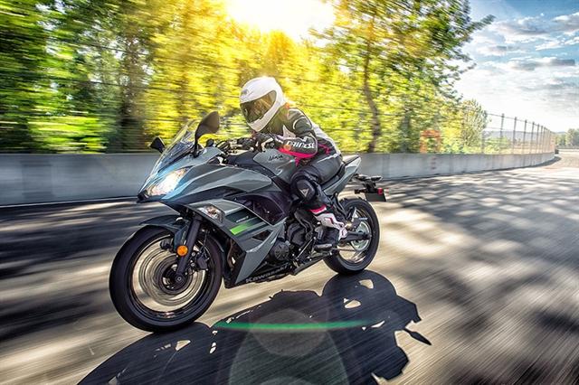 2018 Kawasaki Ninja 650 Base at Hebeler Sales & Service, Lockport, NY 14094