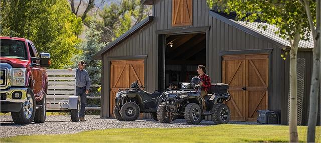 2021 Polaris Sportsman 570 Ultimate Trail at Santa Fe Motor Sports