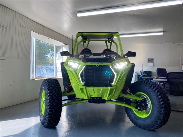 2021 Polaris RZR Turbo S Lifted Lime LE at Cascade Motorsports