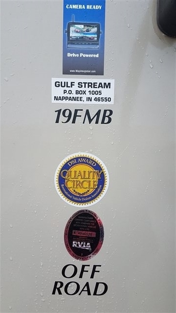 2019 Gulf Stream StreamLite Ultra Lite 19 FMB SVT at Nishna Valley Cycle, Atlantic, IA 50022