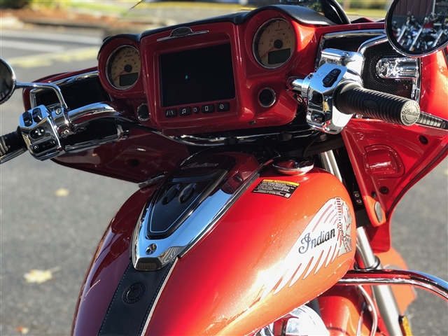 2019 Indian Chieftain Classic Patriot Red Icon at Lynnwood Motoplex, Lynnwood, WA 98037