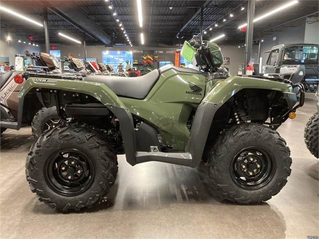 2021 Honda FourTrax Foreman Rubicon 4x4 Automatic DCT EPS at Kent Motorsports, New Braunfels, TX 78130