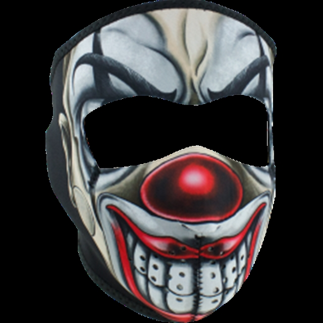 2019 UNIVERSAL FULL FACE MASK CHICANO CLOWN at Randy's Cycle, Marengo, IL 60152